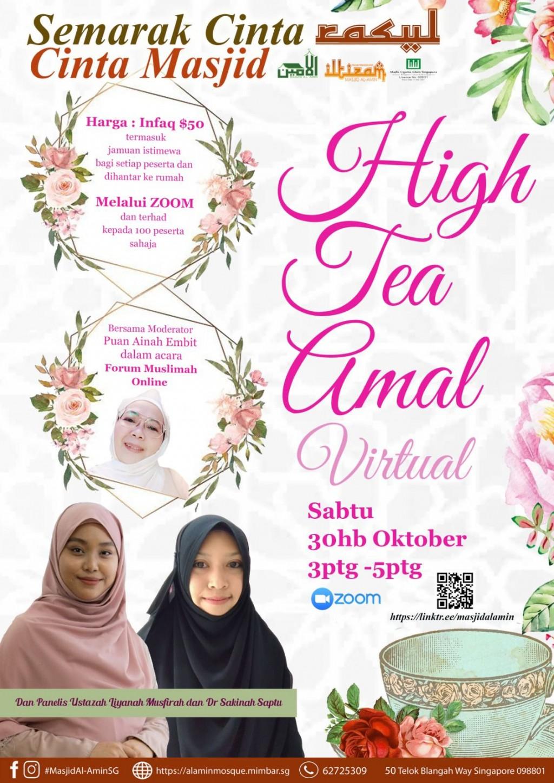 High Tea Amal Virtual
