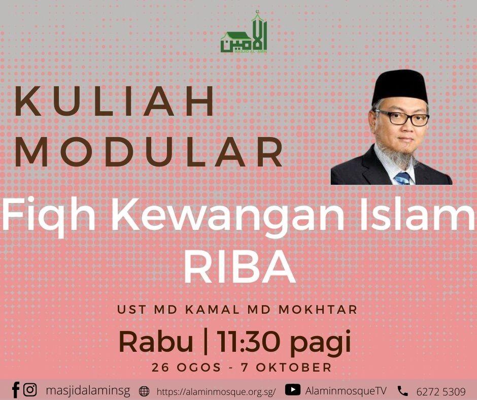 KM: Fiqh Kewangan Islam- RIBA