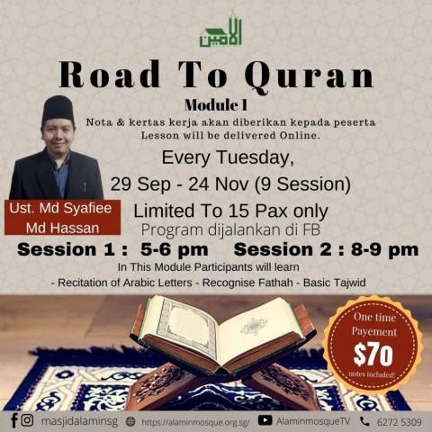 Road To Quran ( Module 1 )