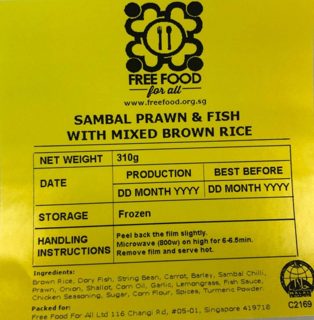 Free Sample Frozen Meal