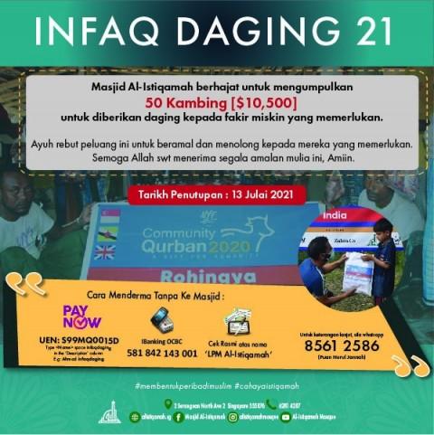 Infaq Daging 21