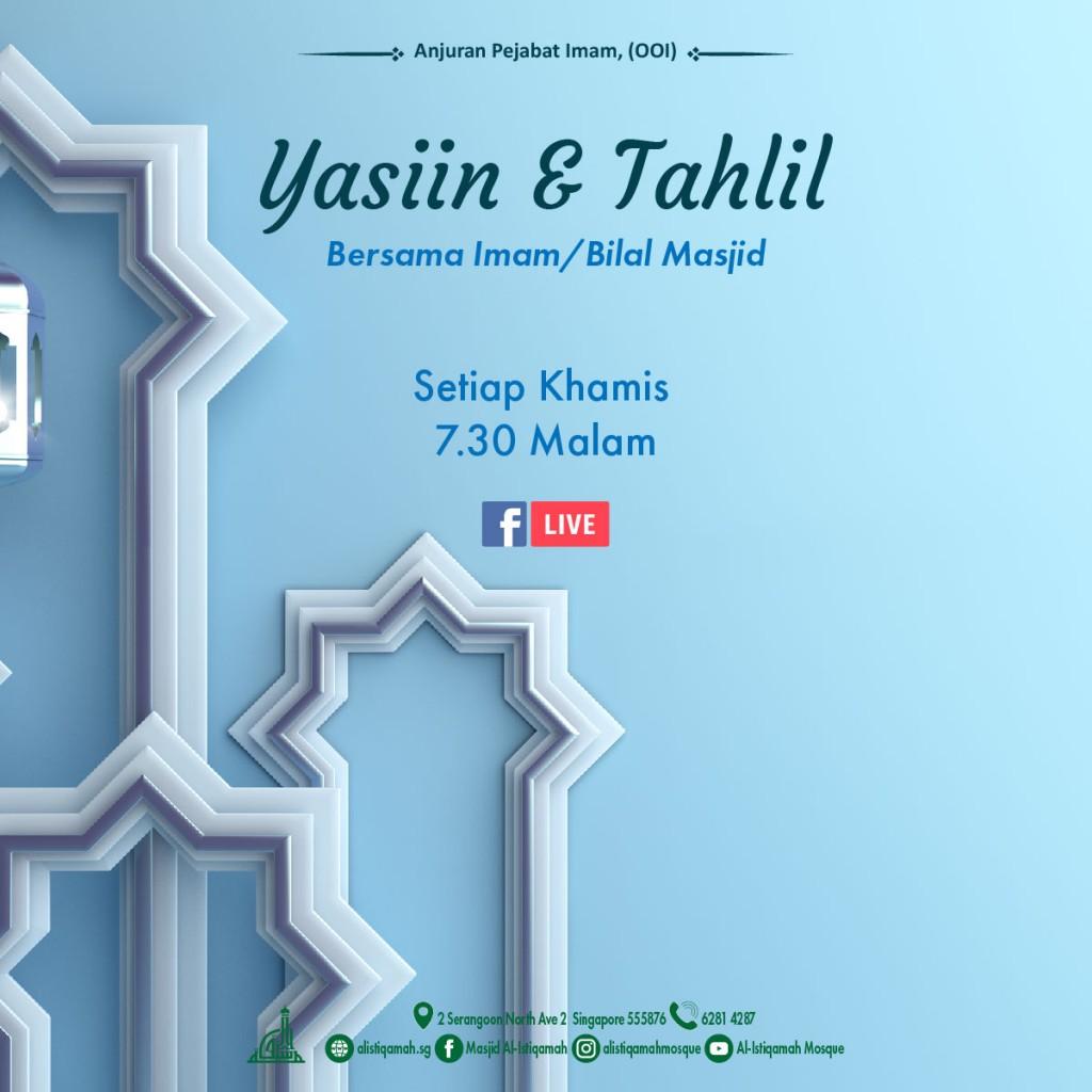 Bacaan Yasiin & Tahlil 2020