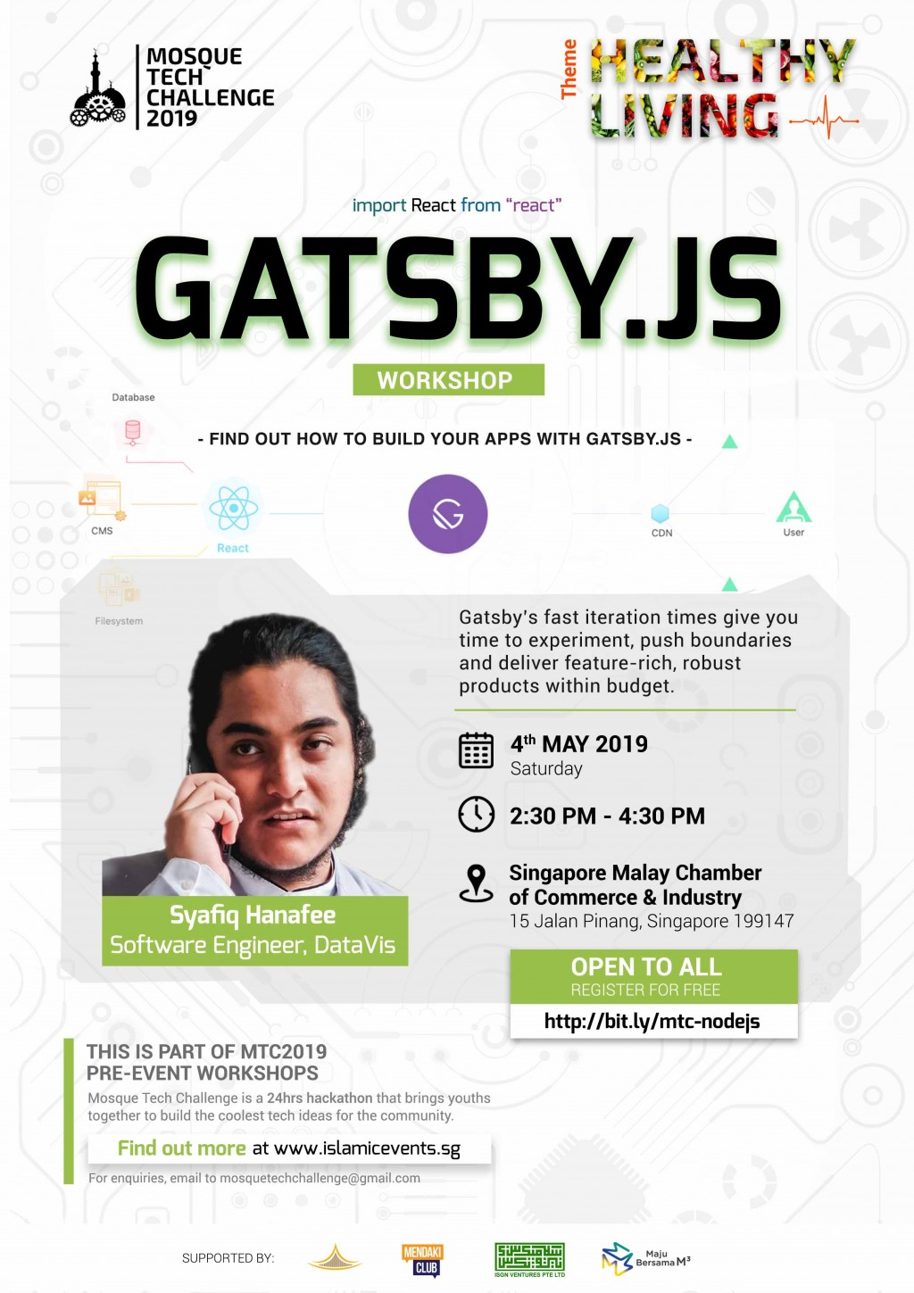 Gatsby.js and Serverless functions