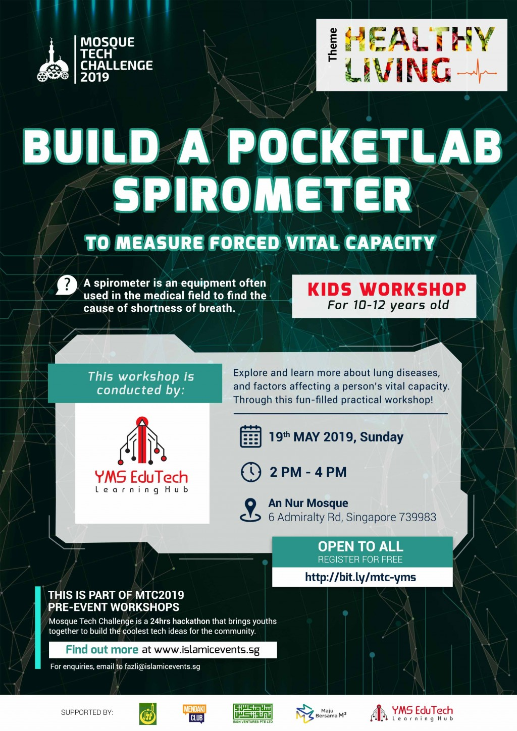 BUILD A POCKETLAB SPIROMETER