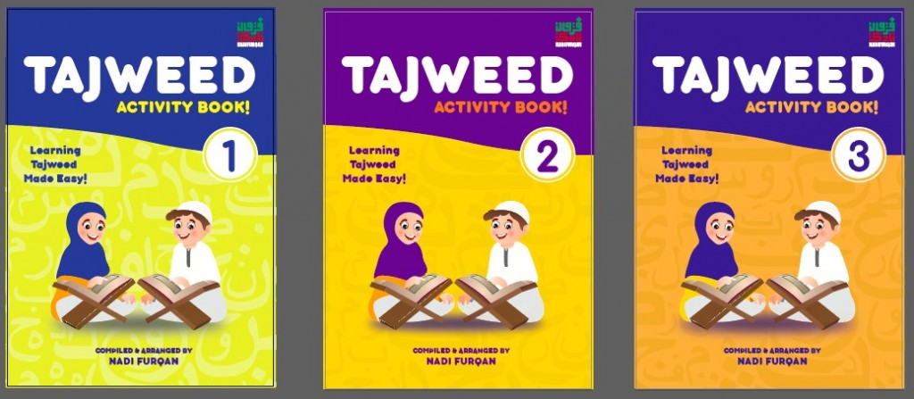Tajweed Activity Book (3 Volumes)