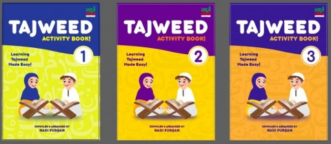 Tajweed Activity Book (3 Volumes)