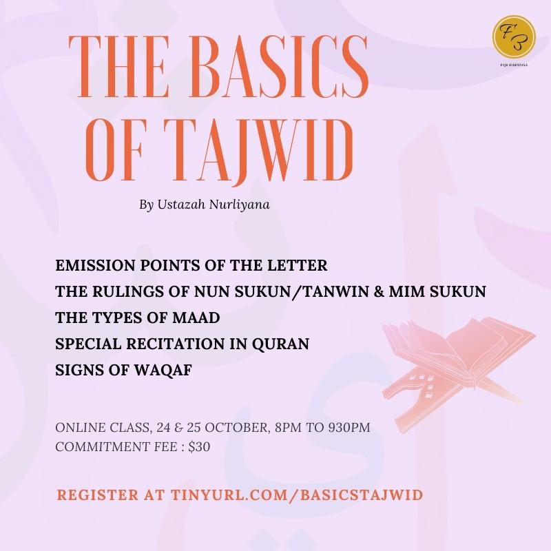 The Basics Of Tajwid