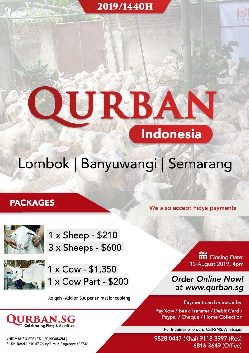 Qurban Indonesia 1440H / 2019