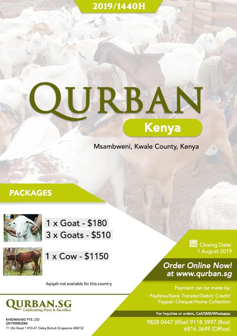 Qurban Kenya 1440H / 2019