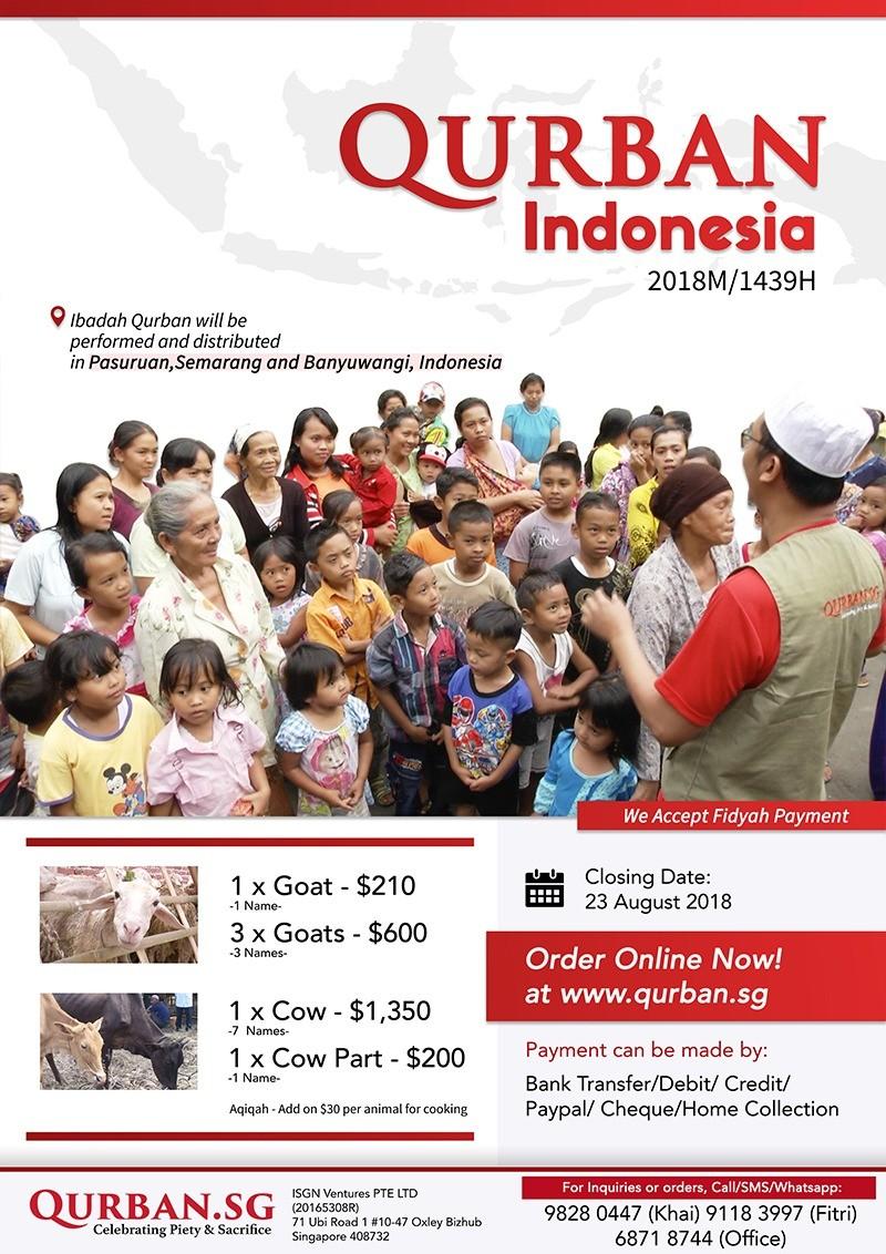 Qurban Indonesia 1439H/2018