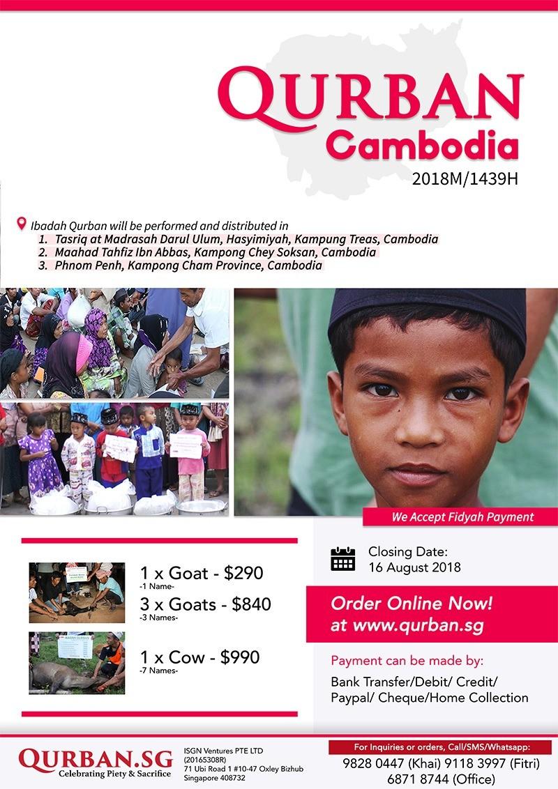Qurban Cambodia 1439H/2018