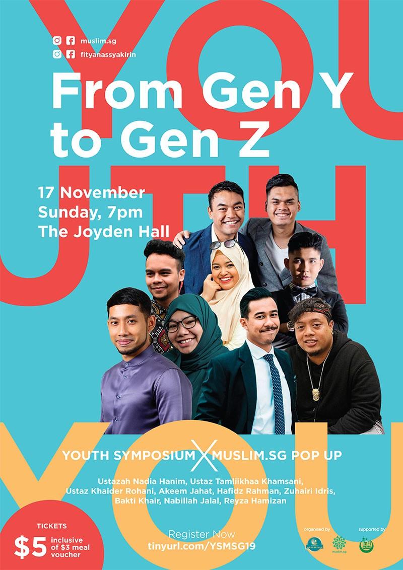 Youth Symposium X Muslim SG Pop Up: From Gen Y to Gen Z