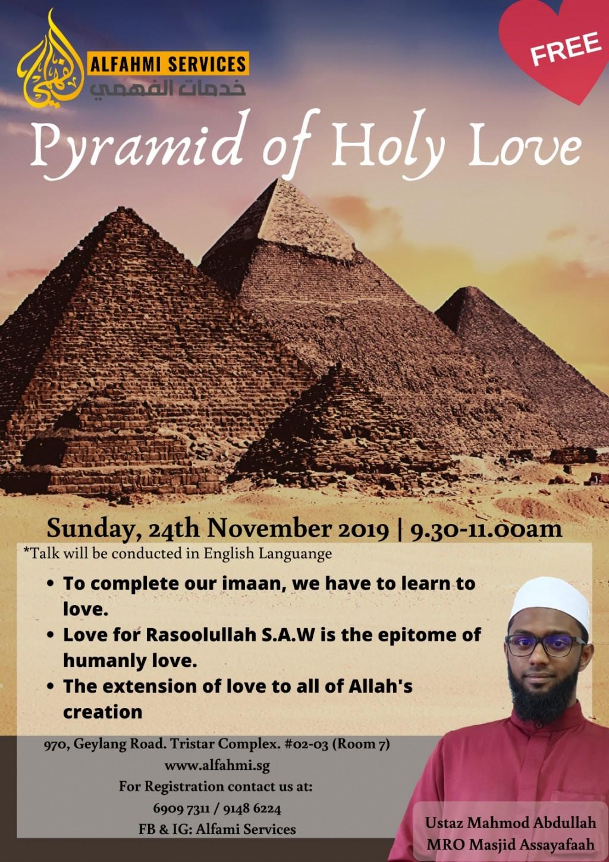 PYRAMID OF HOLY LOVE (FREE TALK)