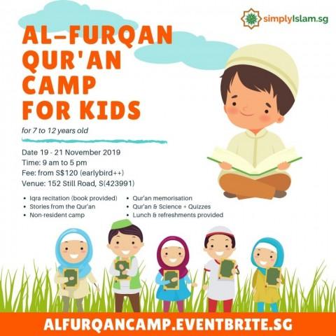 Al-Furqan Qur'an Camp for Kids
