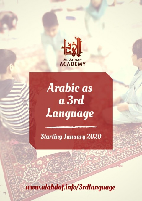 Arabic as a 3rd Language for kids