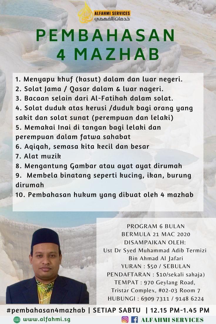 PEMBAHASAN 4 MAZHAB (muslimin dan muslimat)
