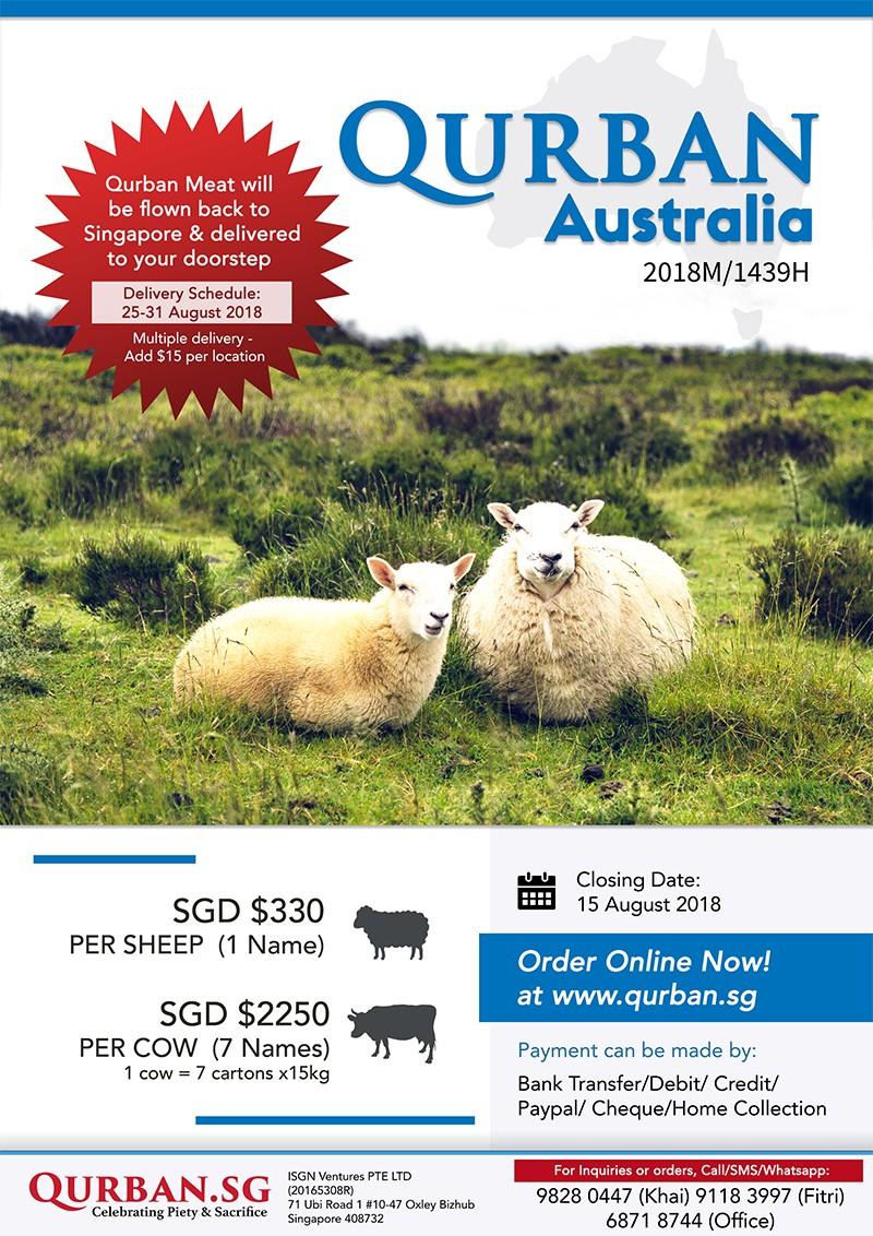 Qurban Australia 1439H/2018