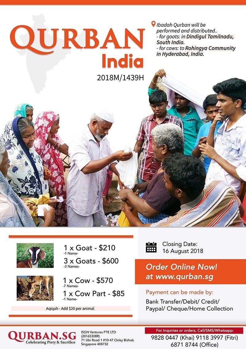 Qurban India 1439H/2018