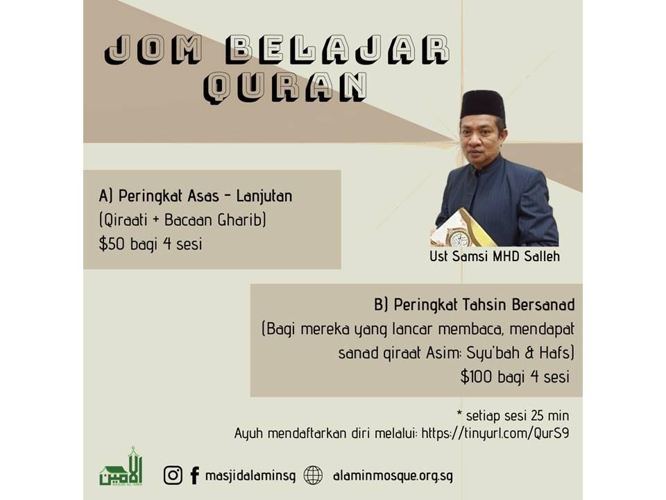 Jom Belajar Al-Quran