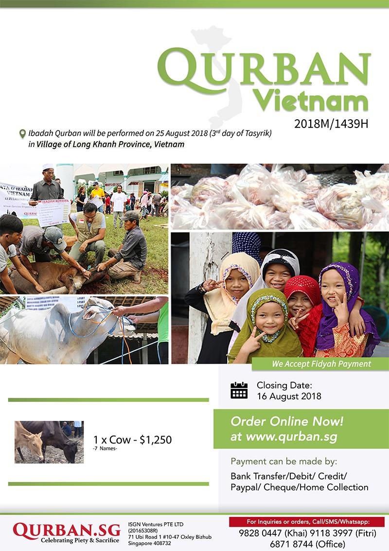 Qurban Vietnam 1439H/2018