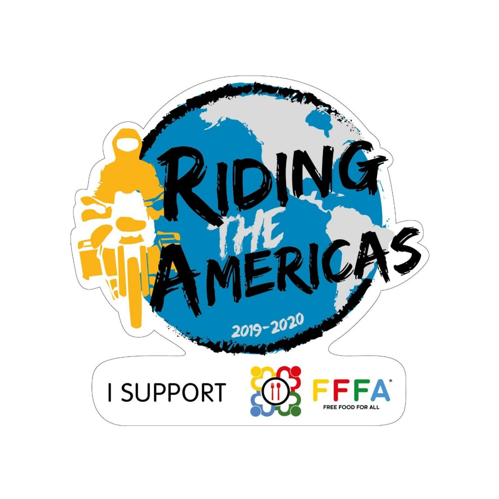 RIDING THE AMERICAS 2019 STICKERS