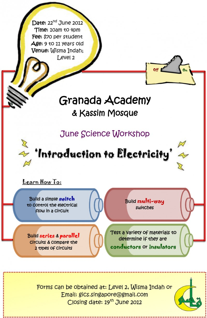 Introduction To Electricity Event Types Of Simple Circuits Series And Parallel Login Islamicevents
