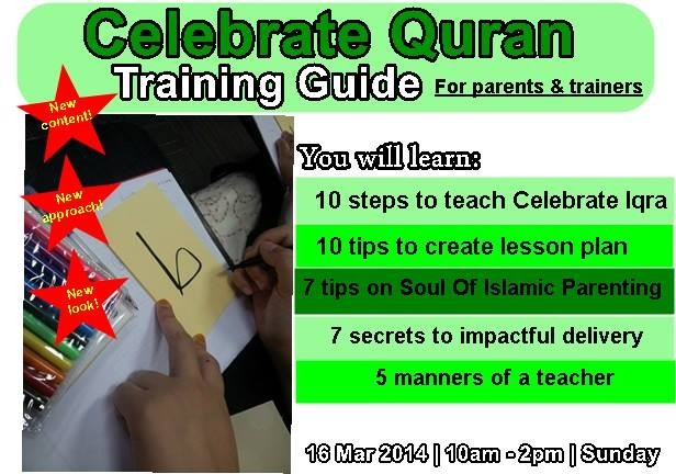 Celebrate Quran Training Guide for Parents & Trainers