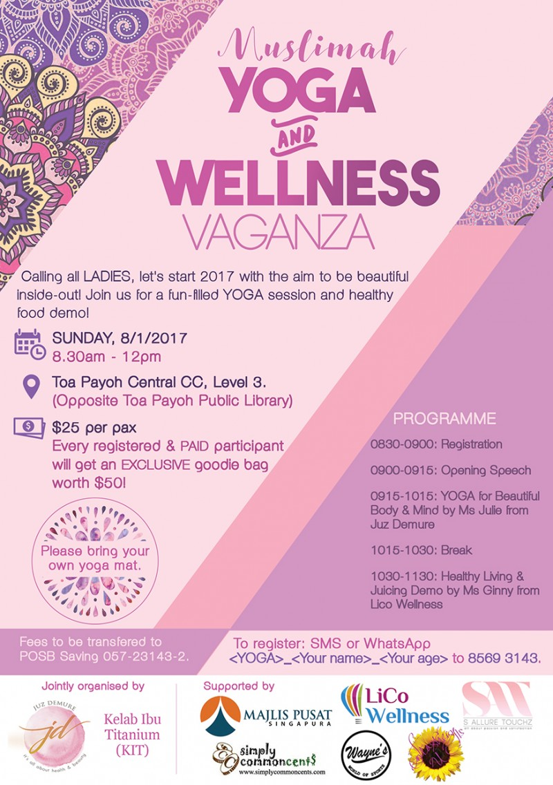 Muslimah Yoga and Wellness Vaganza - Event - IslamicEvents SG