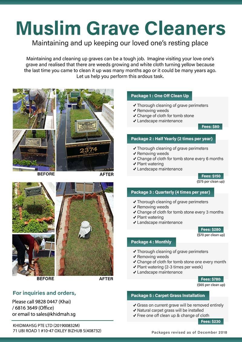 Muslim Grave Cleaners - Khidmah - IslamicEvents SG