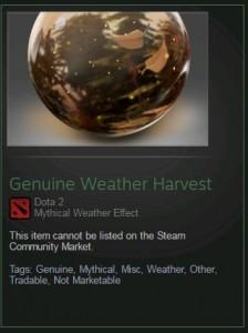 Genuine Weather Harvest (Weather)