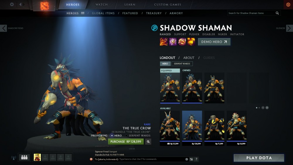 The True Crow (Shadow Shaman Set)