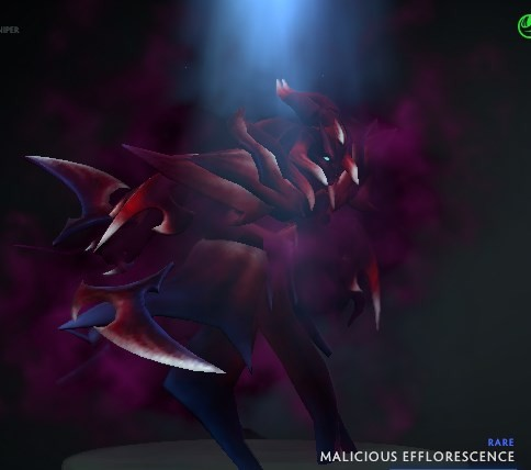 Malicious Efflorescence (Spectre Set)