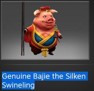Genuine Bajie the Silken Swineling (Courier)
