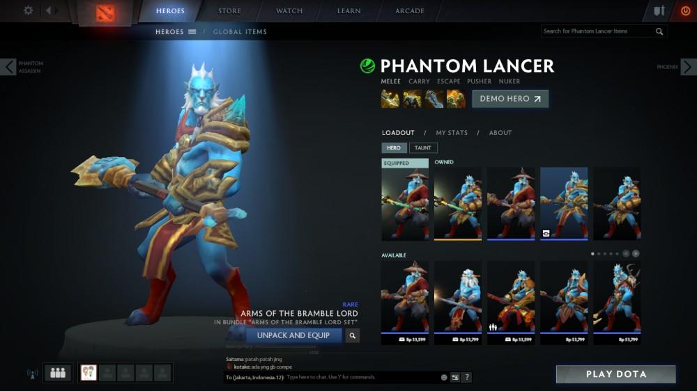 Arms of the Bramble Lord (Phantom Lancer Set)