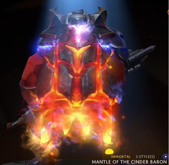 Mantle of the Cinder Baron Upgrade (Style Unlock)