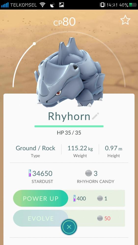 Akun Pokemon Lv16 Cewek Mystic COIN 12K+