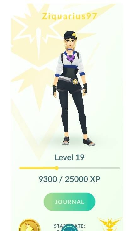 Level 19   Team Instinct