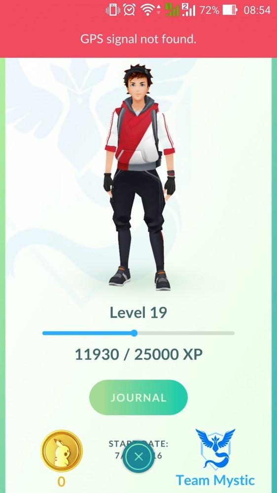 Akun Pokemon Go, Level 20++. Bisa Request Nama