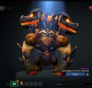 Bindings of Deep Magma (Earthshaker Set)
