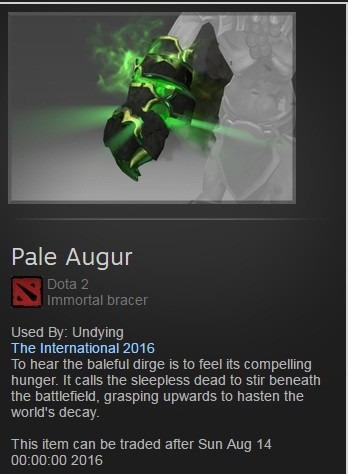 Pale Augur (Immortal Undying TI 6)
