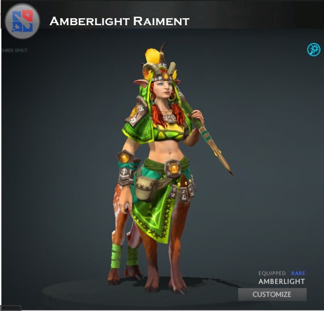 Amberlight Raiment (Enchantress Set)