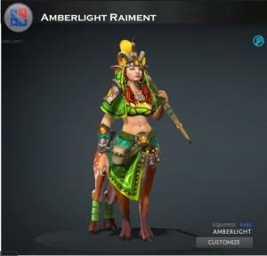 Amberlight Raiment (Enchantress Set)