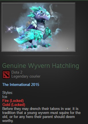 Genuine Wyvern Hatchling (Courier)