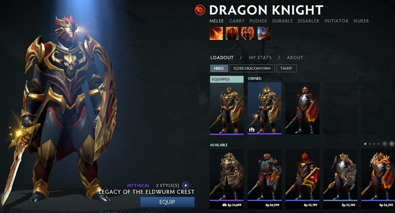 Legacy of the Eldwurm Crest (Dragon Knight Set)