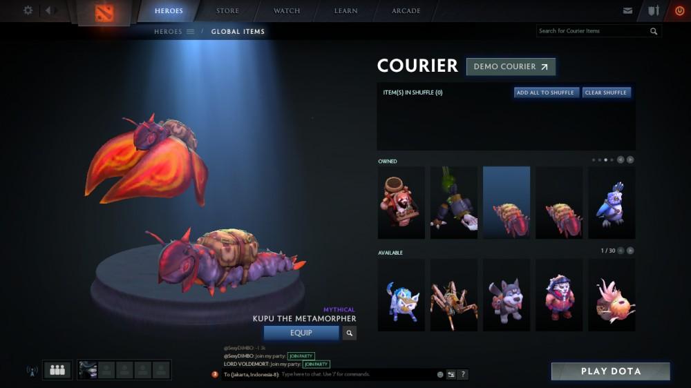 FAST RESPON Kupu the Metamorpher (Courier)