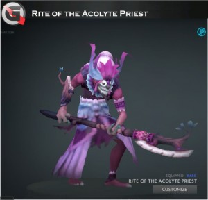 Rite of the Acolyte Priest (Dazzle Set)