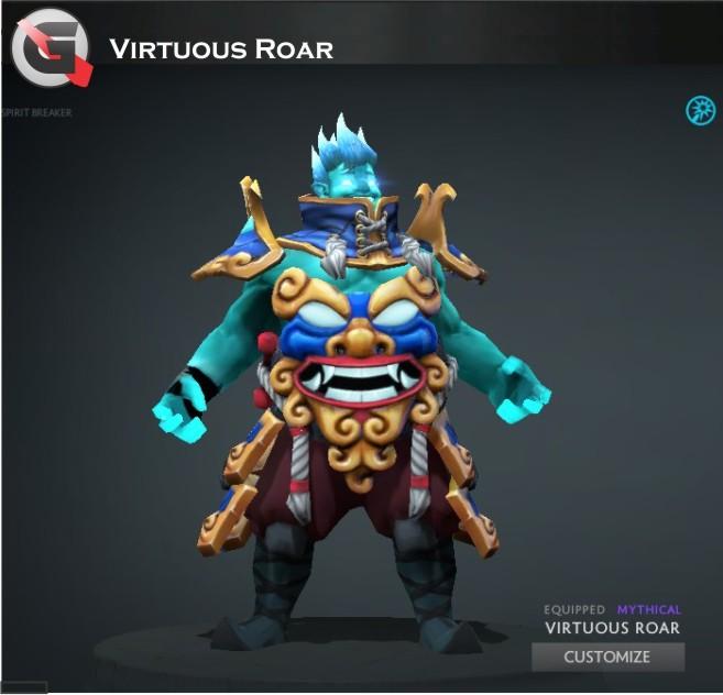 Virtuous Roar (Storm Spirit Set)
