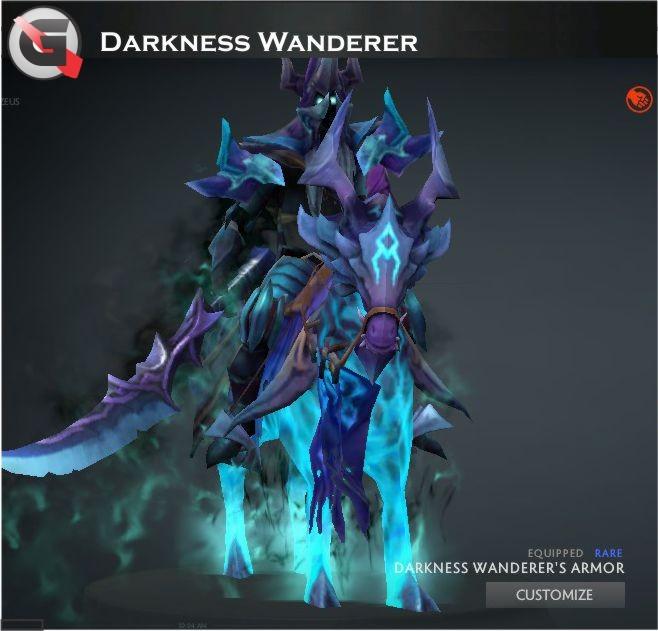 Darkness Wanderer's Armor (Abaddon Set)