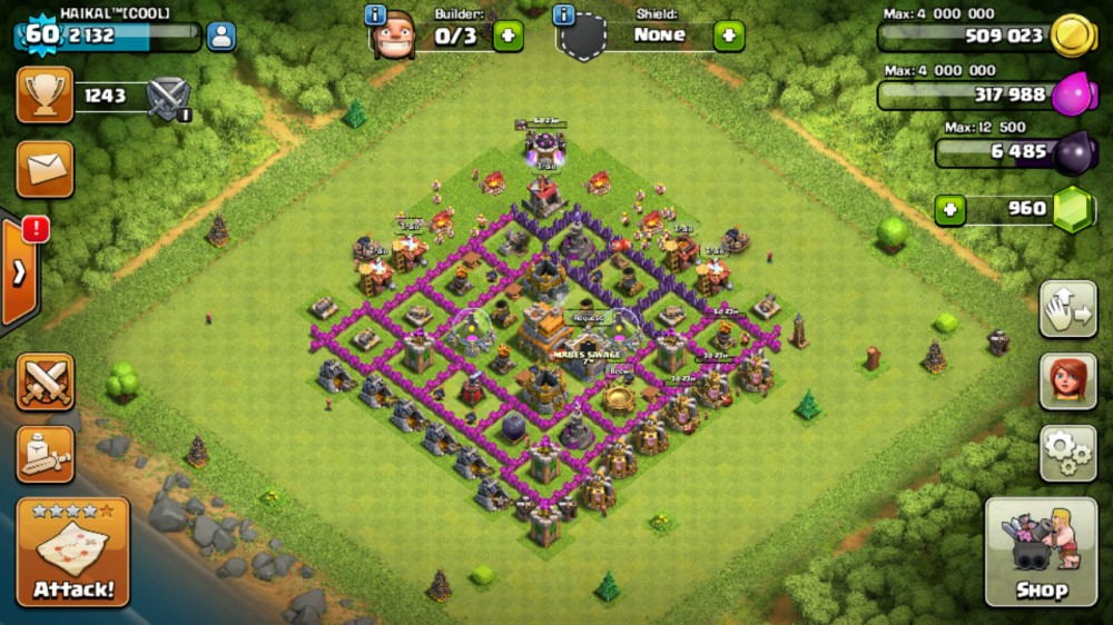 Clash Of Clans TH 7