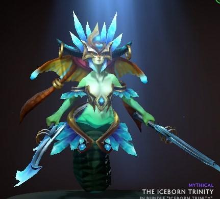 Iceborn Trinity (Naga Siren Set)